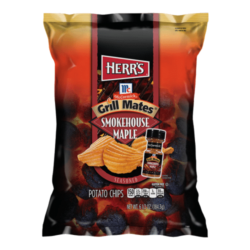 Herr's Grill Mates Smokehouse Maple Potato Chips