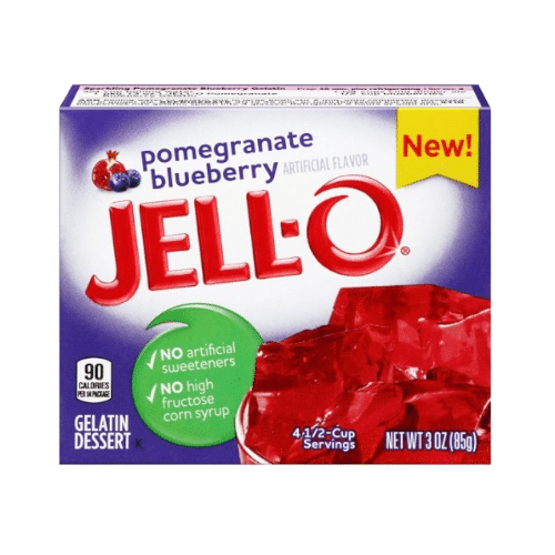 Jell-O Pomegranate-Blueberry