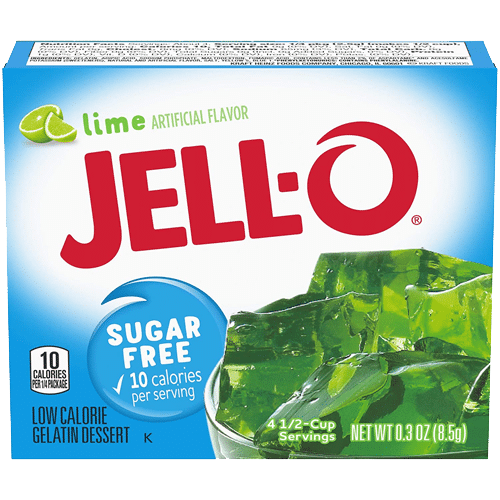 Jell-O Sugar Free Lime