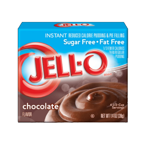 Jell-O Sugar Free Chocolate