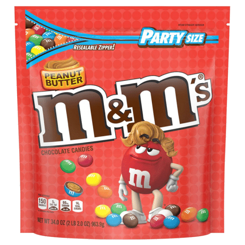M&M's Peanut Butter Party Bag