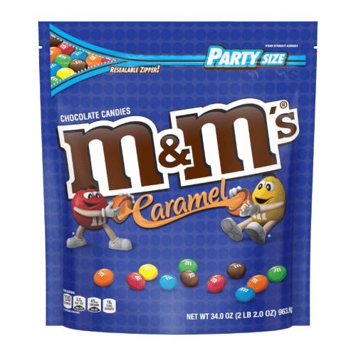 M&M's Caramel Party Bag