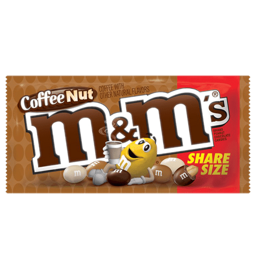 M&M's Coffee Nut Share Size