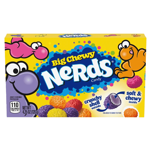 Nerds Big Chewy Theater Box