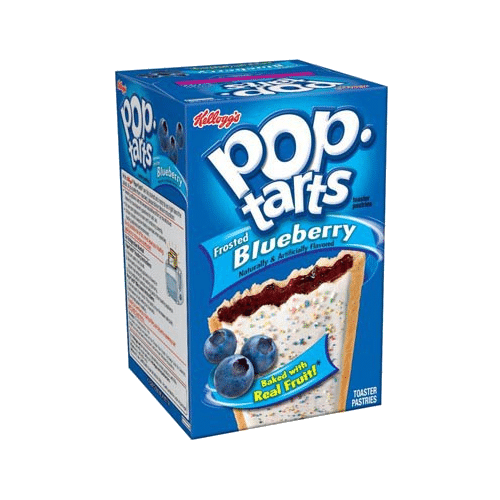 Pop Tarts Frosted Blueberry