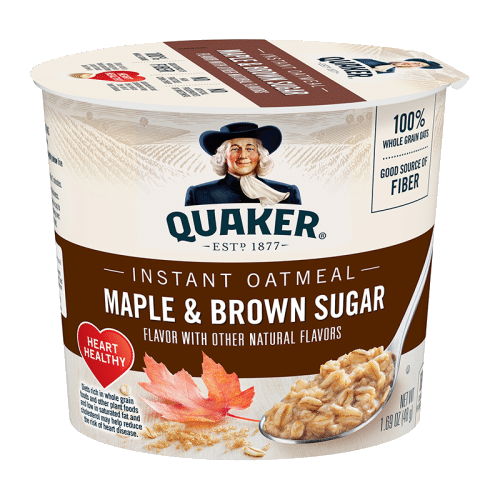 Quaker Oats Maple and Brown Sugar Cup