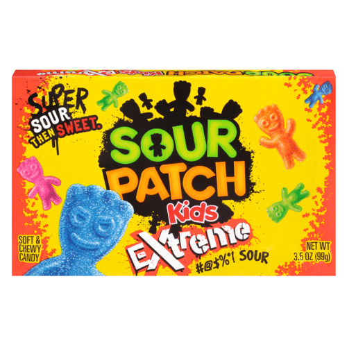 Sour Patch Kids Extreme Theater Box