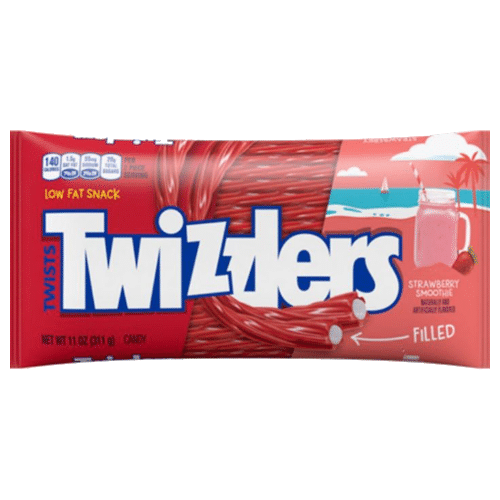 Twizzlers Strawberry Smoothie Filled Twists (Limited Edition)