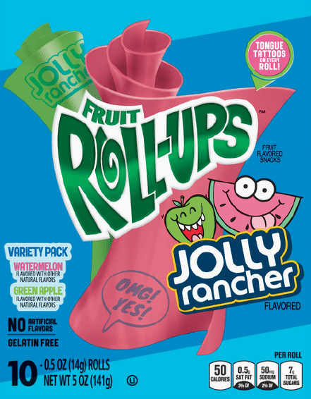 Jolly Rancher Fruit Roll-Ups Variety Pack